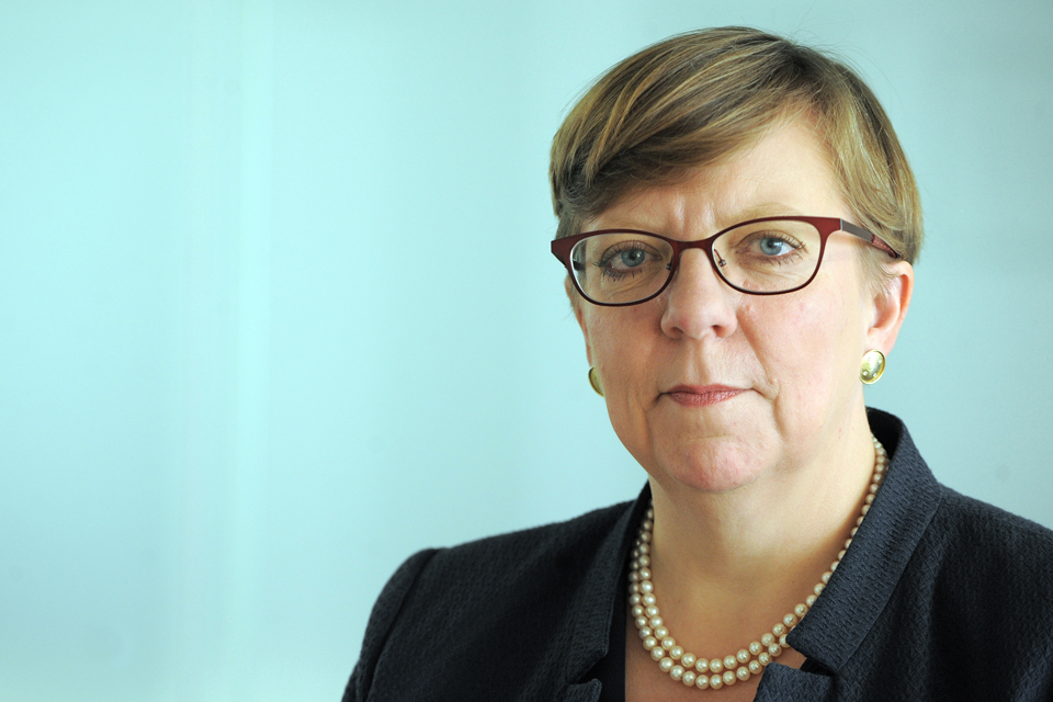 Photograph of Alison Saunders