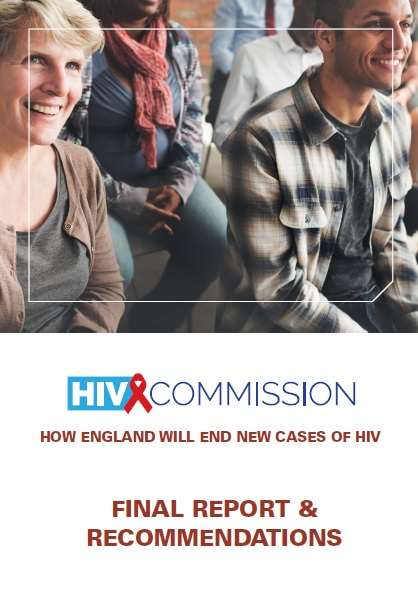 HIV Commission final report cover